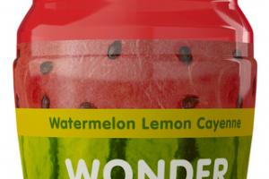 WATERMELON LEMON CAYENNE COLD PRESSED JUICE