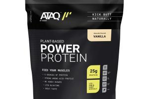 VANILLA PLANT-BASED POWER PROTEIN POWDERED DRINK MIX