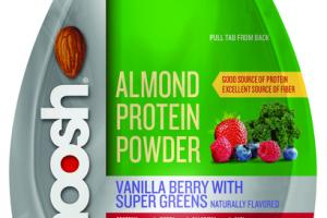 VANILLA BERRY WITH SUPER GREENS ALMOND PROTEIN POWDER