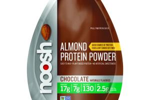 CHOCOLATE FLAVORED ALMOND PROTEIN POWDER