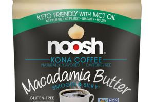 KONA COFFEE FLAVORED MACADAMIA BUTTER
