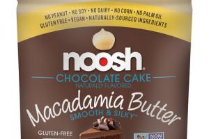CHOCOLATE CAKE FLAVORED MACADAMIA BUTTER