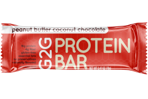 PEANUT BUTTER COCONUT CHOCOLATE PROTEIN BAR