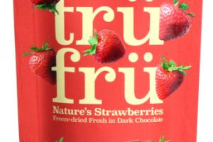 DARK CHOCOLATE 54% CACAO NATURE'S STRAWBERRIES FREEZE-DRIED FRESH IN DARK CHOCOLATE