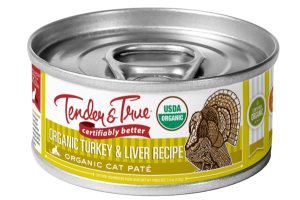 ORGANIC TURKEY & LIVER RECIPE CAT PATE FOOD