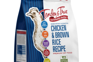 CHICKEN & BROWN RICE RECIPE PREMIUM CAT FOOD
