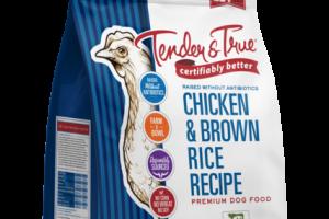 CHICKEN & BROWN RICE RECIPE PREMIUM DOG FOOD