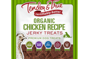 ORGANIC CHICKEN RECIPE JERKY PREMIUM DOG TREATS