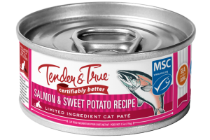 SALMON & SWEET POTATO RECIPE CAT FOOD