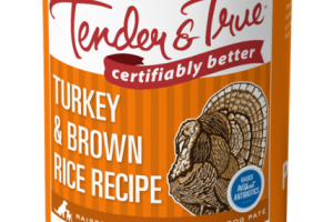 TURKEY & BROWN RICE RECIPE DOG PATE FOOD