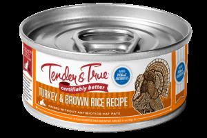 TURKEY & BROWN RICE RECIPE PATE CAT FOOD
