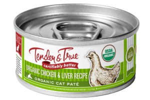 ORGANIC CHICKEN & LIVER RECIPE ORGANIC CAT PATE FOOD