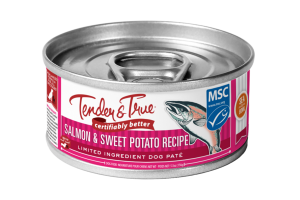 SALMON & SWEET POTATO RECIPE LIMITED INGREDIENT DOG PATE FOOD