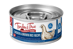 CHICKEN & BROWN RICE RECIPE RAISED WITHOUT ANTIBIOTICS DOG PATE FOOD