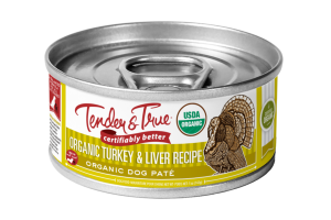 ORGANIC TURKEY & LIVER RECIPE PATE DOG FOOD