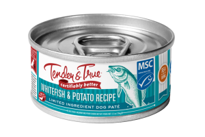 WHITEFISH & POTATO RECIPE LIMITED INGREDIENT DOG PATE FOOD