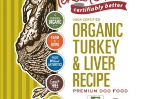 ORGANIC TURKEY & LIVER RECIPE PREMIUM DOG FOOD