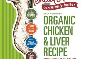 GRAIN FREE ORGANIC CHICKEN & LIVER RECIPE PREMIUM CAT FOOD