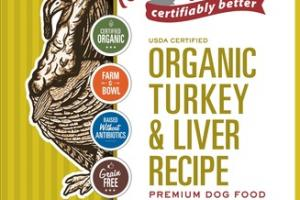 GRAIN FREE ORGANIC TURKEY & LIVER RECIPE PREMIUM DOG FOOD