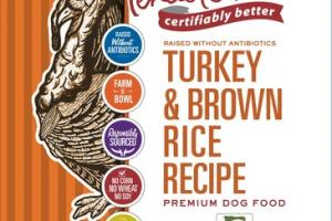 TURKEY & BROWN RICE RECIPE PREMIUM DOG FOOD