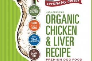 ORGANIC CHICKEN & LIVER RECIPE PREMIUM DOG FOOD