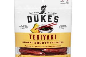 TERIYAKI SMOKED SHORTY SAUSAGES