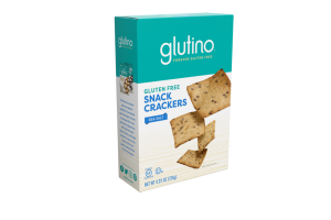 SEA SALT GLUTEN FREE SNACK CRACKERS