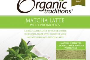 MATCHA LATTE WITH PROBIOTICS