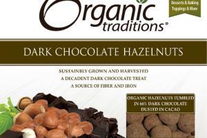 DARK CHOCOLATE HAZELNUTS