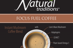 FOCUS FUEL INSTANT MUSHROOM COFFEE BLEND