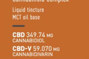 CBD + GOLDEN HARVEST SYNERGISTIC FULL-SPECTRUM CANNABINOID COMPLEX 500 MG DIETARY SUPPLEMENT LIQUID TINCTURE