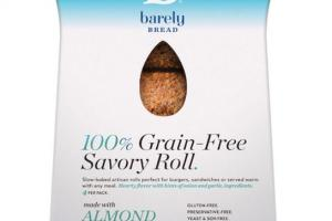 100% GRAIN-FREE SAVORY ROLL