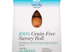 100% GRAIN-FREE SAVORY ROLL.