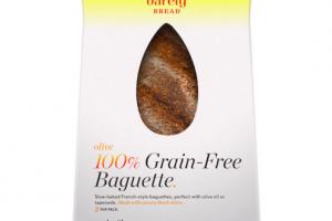 OLIVE 100% GRAIN-FREE BAGUETTE.