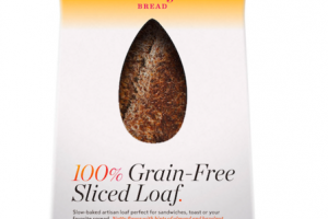 100% GRAIN-FREE SLICED LOAF.