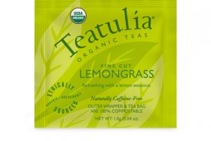 FINE CUT LEMONGRASS ORGANIC TEA BAG