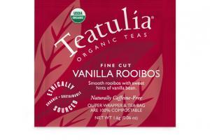 FINE CUT VANILLA ROOIBOS ORGANIC TEAS