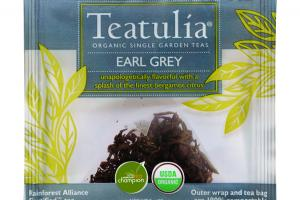 EARL GREY ORGANIC SINGLE GARDEN TEAS