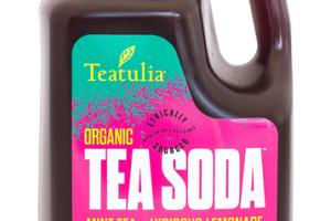 MINT TEA + HIBISCUS LEMONADE ORGANIC TEA SODA