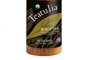 BLACK ORGANIC TEA BAGS
