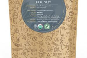 EARL GREY ORGANIC TEAS UNWRAPPED PREMIUM PYRAMIDS