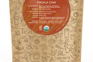 MASALA CHAI ORGANIC TEAS UNWRAPPED PREMIUM PYRAMIDS