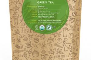 GREEN ORGANIC TEA UNWRAPPED PREMIUM PYRAMIDS