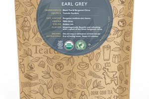 EARL GREY ORGANIC TEA UNWRAPPED PREMIUM PYRAMIDS