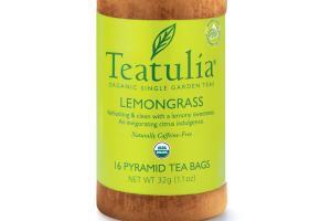 LEMONGRASS ORGANIC PYRAMID TEA BAGS