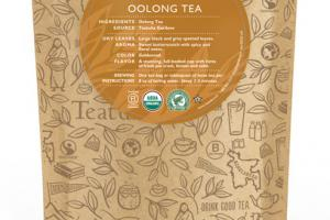 OOLONG ORGANIC TEA UNWRAPPED PREMIUM PYRAMIDS