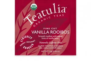 VANILLA ROOIBOS ORGANIC FINE CUT TEA BAG