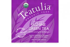 JASMINE GREEN ORGANIC FINE CUT TEA BAG