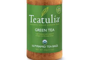 GREEN ORGANIC PYRAMID TEA BAGS
