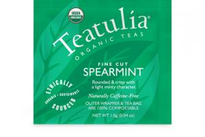 SPEARMINT ORGANIC FINE CUT TEA BAG
